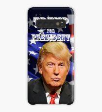 Funda/vinilo para Samsung Galaxy Donald Trump para el presidente 2016