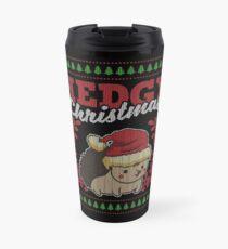 Hedgehog Christmas Ugly Christmas gift Travel Mug