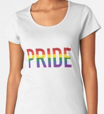 Stolz, Homosexuell Frauen Premium T-Shirts