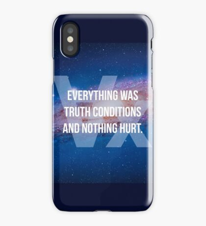 Truth Conditions iPhone Case