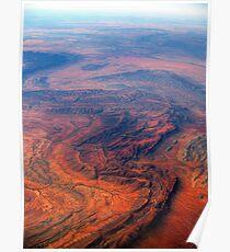 Outback Australia - Vertebrae - Red, Rugged and Unforgiving (2) Poster