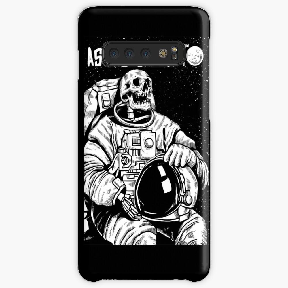 Der Astronaut - toter Astronaut Hülle & Klebefolie für Samsung Galaxy