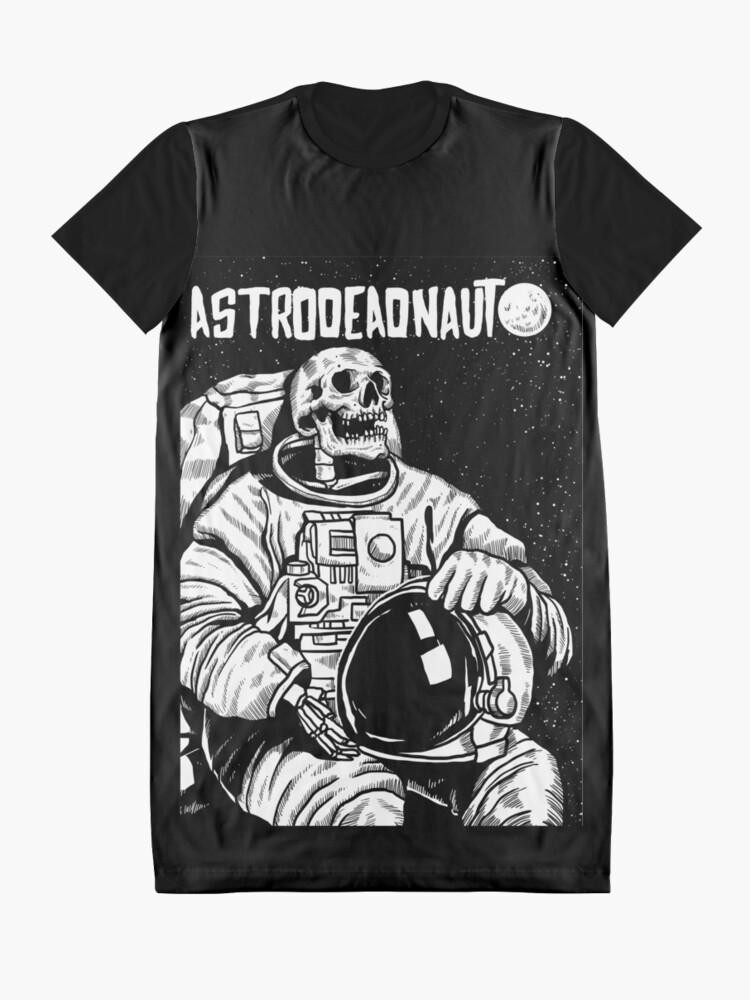 Alternative Ansicht von Der Astronaut - toter Astronaut T-Shirt Kleid