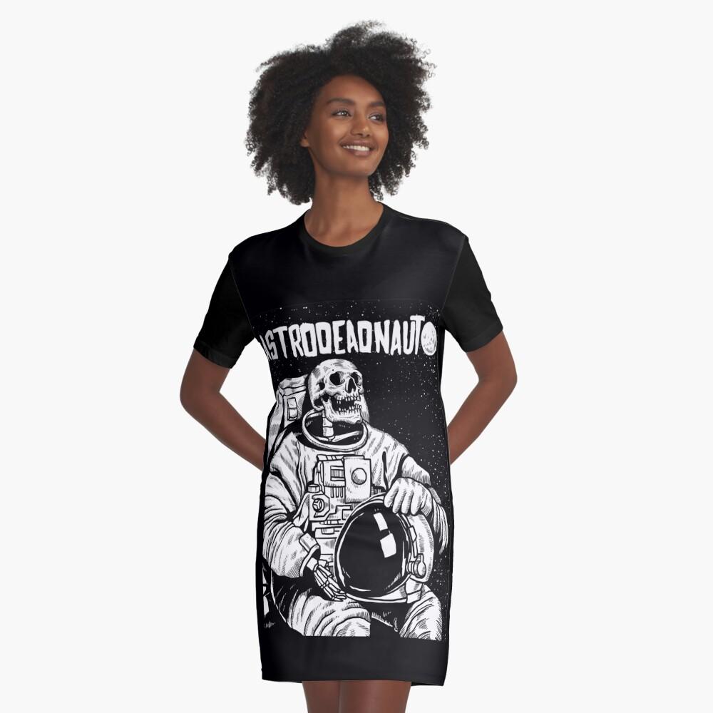 Der Astronaut - toter Astronaut T-Shirt Kleid