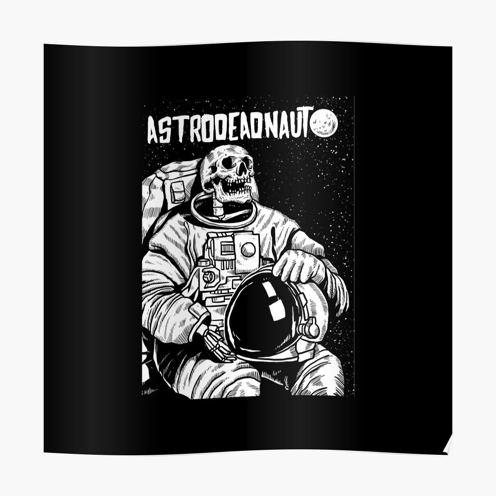 Der Astronaut - toter Astronaut Poster