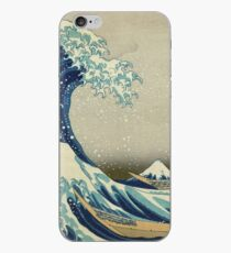 Best Price T-Shirts, Prints etc - Hokusai - the great wave off Kanagawa - 1823 iPhone Case