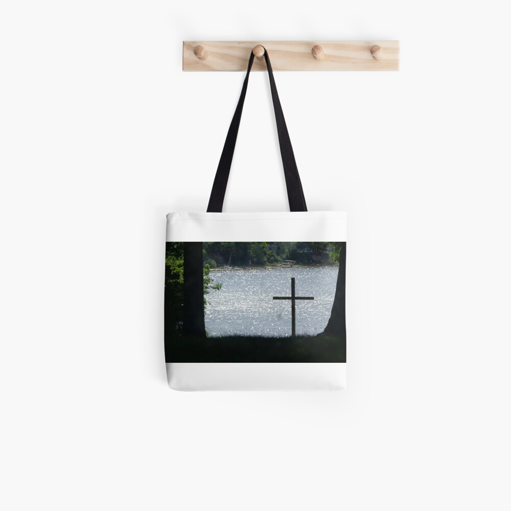 Christus in der Natur Tote Bag