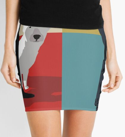 Bull terriers Mini Skirt