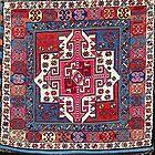 Shahsavan Azerbaijan North West Persian Bag Face by Vicky Brago-Mitchell