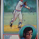 450 - Bucky Dent by Foob's Baseball Cards