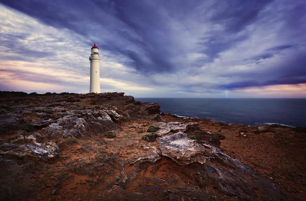 Evening storm at Cape Nelson - Portland by Mark Shean