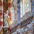 Germany. Bavaria. Wieskirche. Interior. Detail. by vadim19