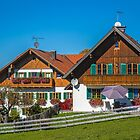 Germany. Bavaria. Village. Houses. by vadim19