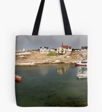 Peggy's Cove panoramic view, Canada Tote Bag