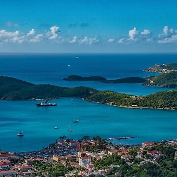 St. Thomas, US Virgin Islands Vista by gerdagrice