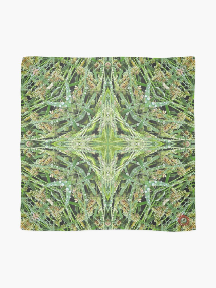 Alternate view of D1G1TAL-M00DZ ~ FLORAL ~ Wet Grass 1 by tasmanianartist 240119 Scarf