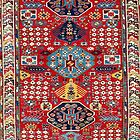 Moghan Azerbaijan South East Caucasus Rug by Vicky Brago-Mitchell