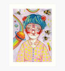 eye of jupiter Art Print
