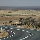 S Curves, Towards Sedan, South Australia 2018 by muz2142