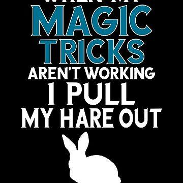 Magician Design / Magic Tricks Design / Magic Gift / Magician Gift by FairOaksDesigns