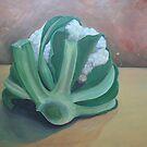 Just a Cauliflower  by Mandy Kerr