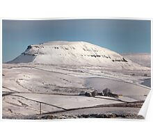 Penyghent From Langcliffe Poster