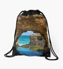 Perspective Drawstring Bag
