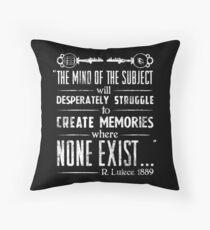 The Infinite Starter Remastered (White) Throw Pillow