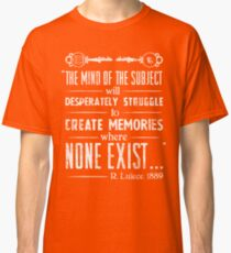 The Infinite Starter Remastered (White) Classic T-Shirt