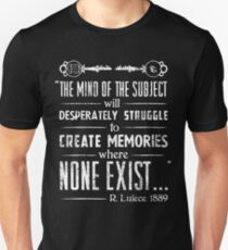 The Infinite Starter Remastered (White) Unisex T-Shirt