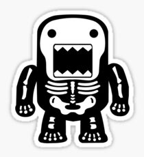 Skeleton Domo Sticker