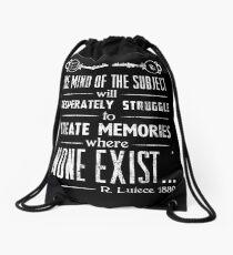 The Infinite Starter Remastered (White) Drawstring Bag