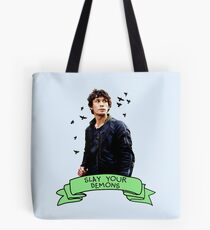 Slay Your Demons Tote Bag