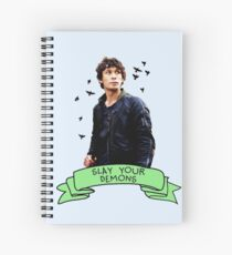 Slay Your Demons Spiral Notebook
