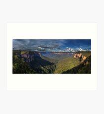 Govett's Leap Panorama Art Print