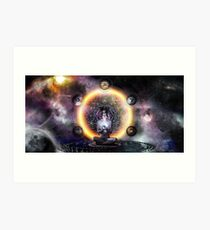 The Architect sacred geometry Art Print