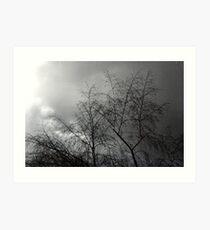 Approaching Storm... Art Print