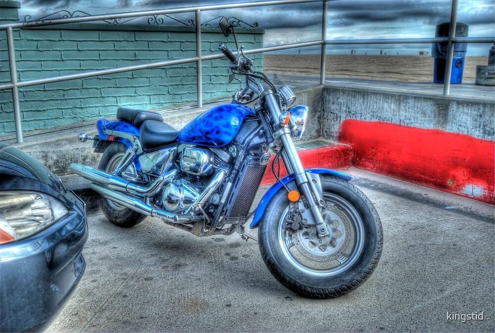 Blue Bike by kingstid