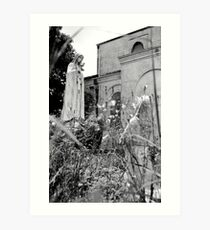 Abandoned church-Faubourg Marigny-New Orleans Art Print