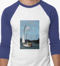 On Sydney Harbour  Australia Men's Baseball ¾ T-Shirt