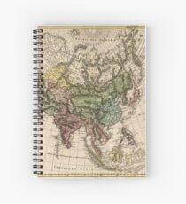 Cuaderno de espiral Charte van Asien (Mapa de Asia) 1805