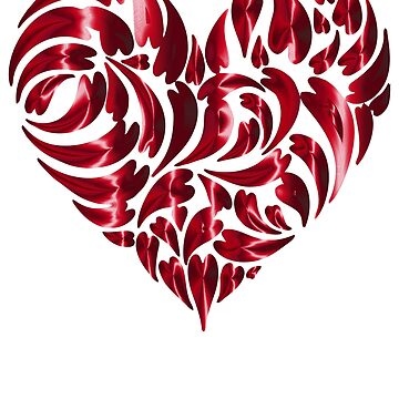ABSTRACT VALENTINE HEART by ShyneR