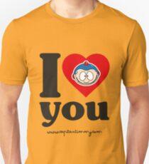 Capitan Timmy - I love you T-Shirt