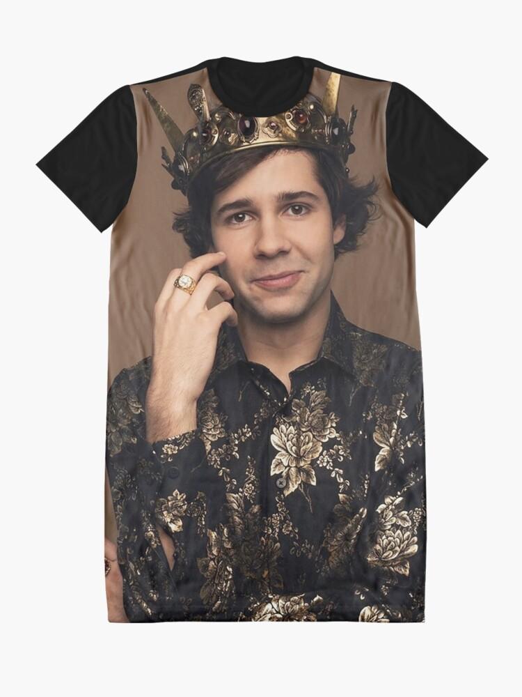 Alternate view of King David Dobrik Graphic T-Shirt Dress