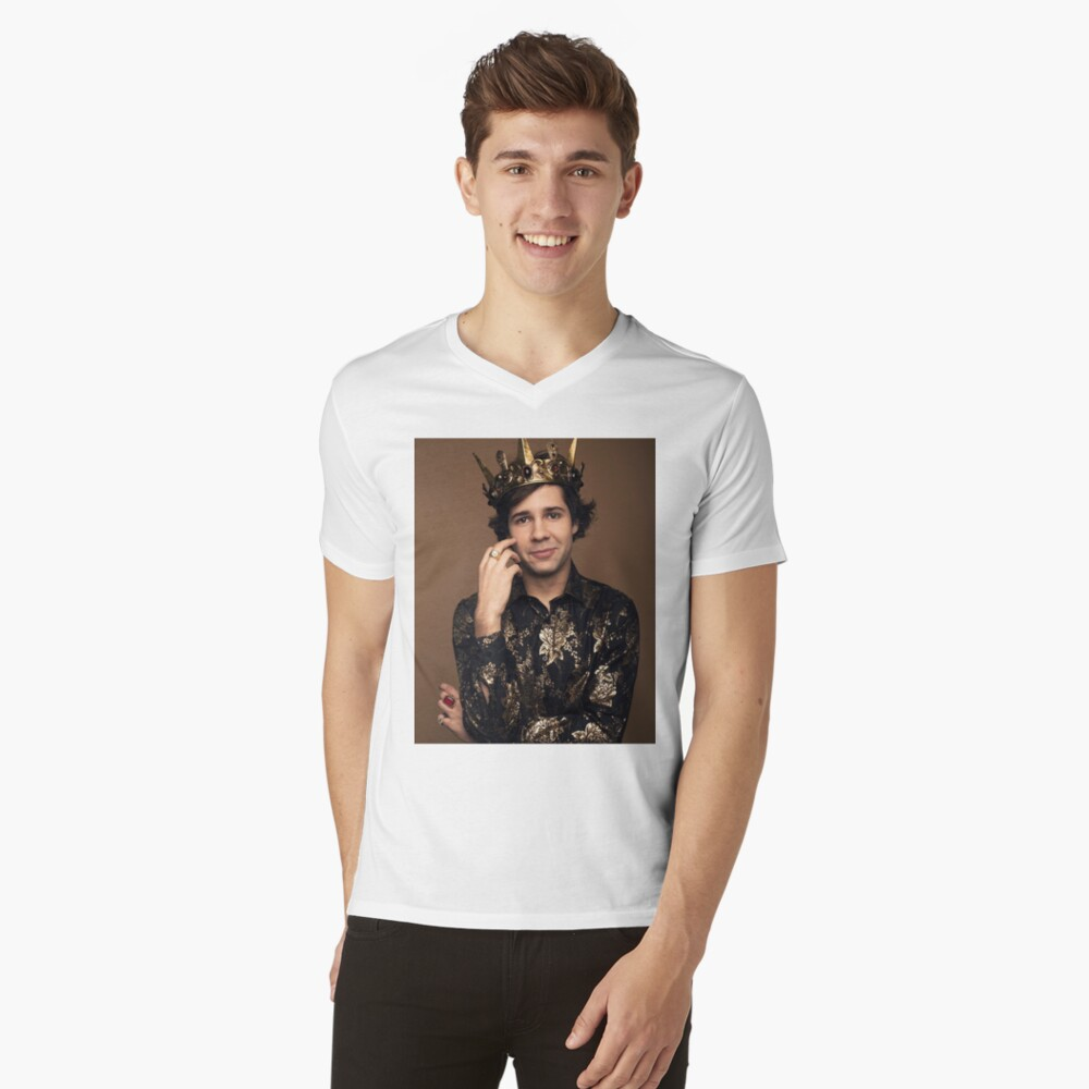 King David Dobrik V-Neck T-Shirt