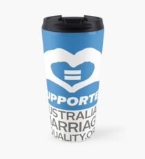 Australian Marriage Equality Supporter Travel Mug