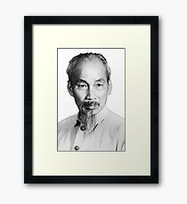 Ho Chi Minh Portrait Framed Print