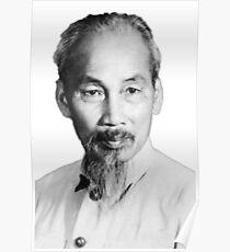 Ho-Chi-Minh-Porträt Poster