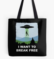 I Want to Break Free - Freddie Returns to Mercury Tote Bag