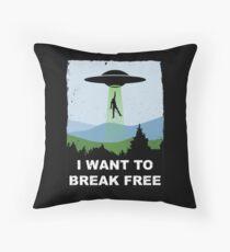 I Want to Break Free - Freddie Returns to Mercury Throw Pillow